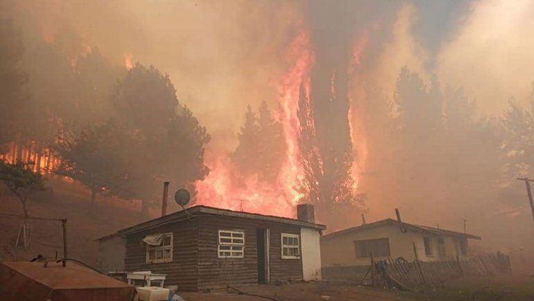 El Presidente recorrerá la Comarca Andina tras los incendios