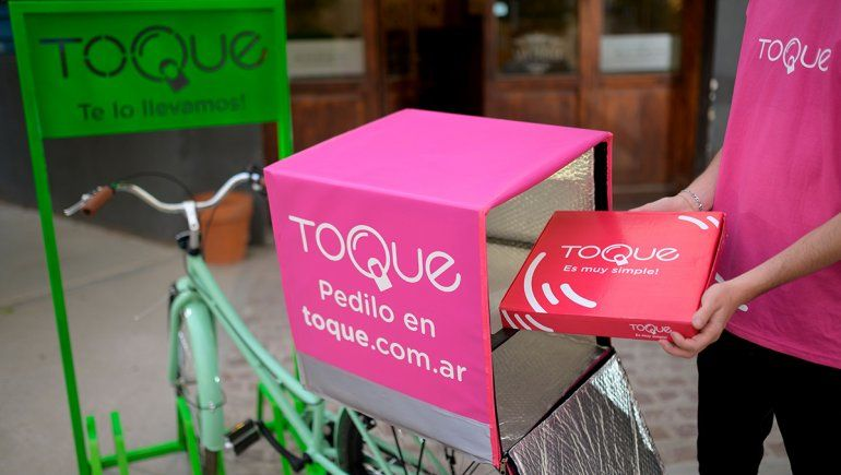 Toque: la app de delivery cipoleña llegó a Neuquén