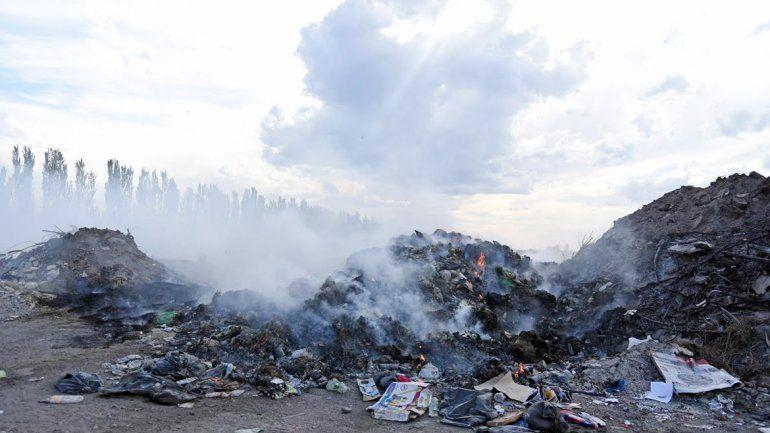 La acumulación de desechos en los alrededores