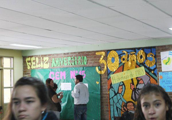 El colegio 15 cumplió 30 años