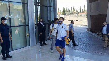 Alivio en Boca: Tevez llegó a San Juan