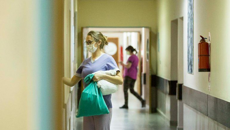 Internación en las casas por el número de contagios