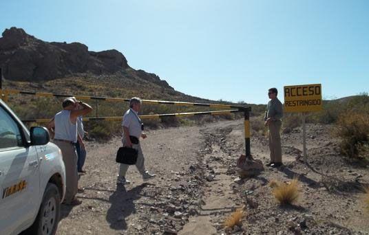 Acuerdan trazado del camino por donde saldrá el PCB de Sierra Grande