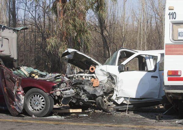 Heridos graves tras un espectacular accidente
