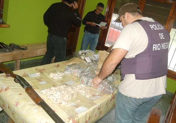 Secuestraron cocaína de alta pureza