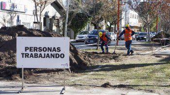 vecinos mantendran el bloqueo en la obra de la ciclovia de alem