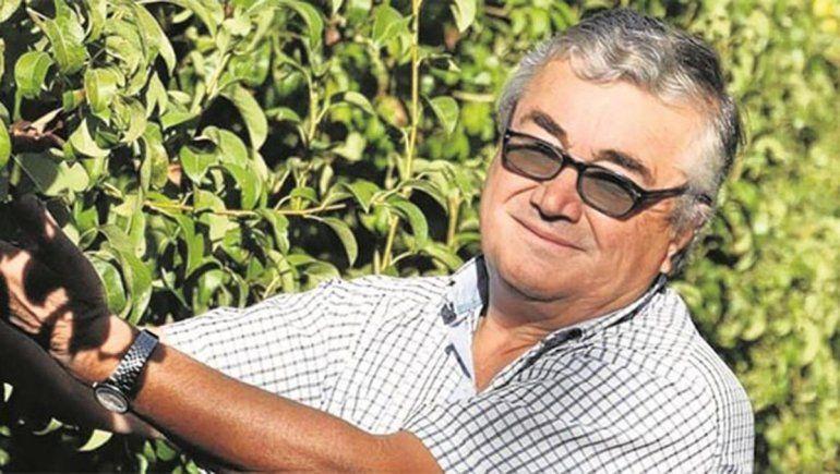 Tristeza por la muerte de Carlos Natalini, un referente de la fruticultura regional