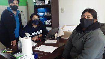 ANSES realizó pagos de jubilaciones, pensiones y asignaciones familiares por primera vez en mayo en Colán Conhué,