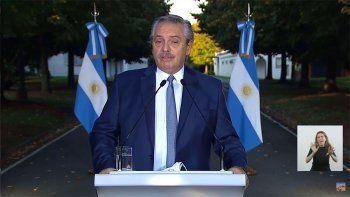 Una a una: las nuevas medidas que anunció Alberto Fernández