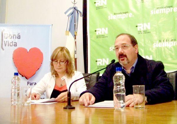 Desde Salud destacaron el aumento de la donación de órganos en Río Negro