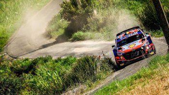 Thierry Neuville ganó la fecha del Rally Mundial en Bélgica