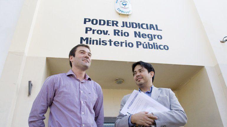 El intendente de Fernández Oro