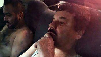 La primera imagen de El Chapo recapturado.