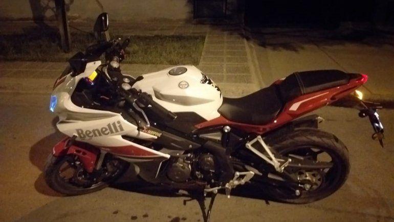 Recuperaron una moto de alta gama en el barrio Don Bosco
