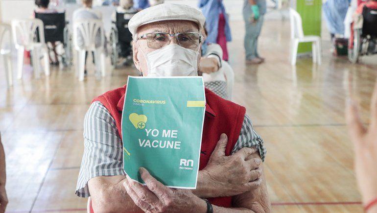 Cipolletti: arranca una nueva etapa de vacunación para adultos mayores de 80