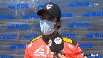 Manuel Urcera, piloto rionegrino en el TC.