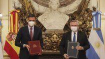 casa rosada: fernandez recibe al presidente espanol