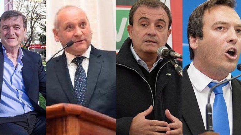 Ellos lideran las encuestas para candidatos a gobernador de Río Negro