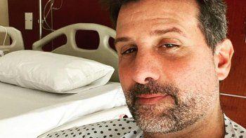 El relato de Listorti, internado por Covid:  Me pusieron oxígeno