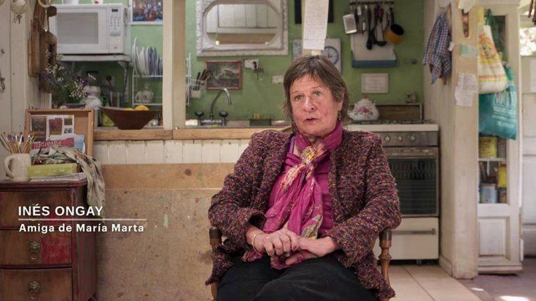 Testimonio de Inés Ongay en el documental Carmel de Netflix.