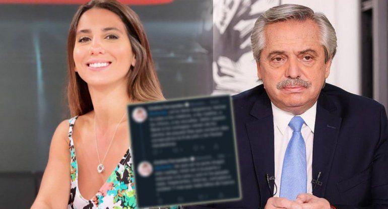 Cinthia arremetió contra el presidente en Twitter y fue denunciada ¡Mirá!