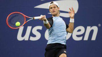 US Open: a pesar de la tormenta, Schwartzman avanzó a tercera ronda