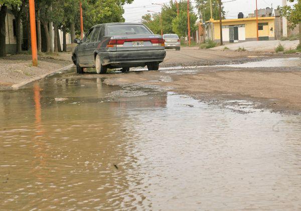 Inundación en el Godoy, no tóxica