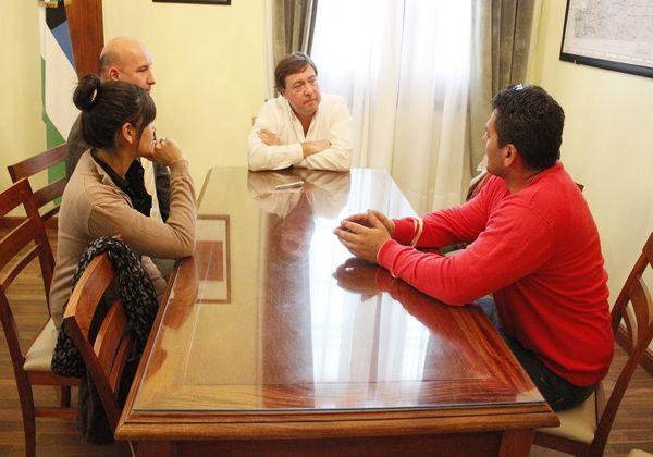 El gobernador recibió a los familiares de Andrés Lucanera