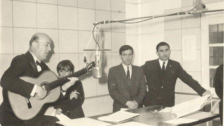 Abraham Tohmé, Jorge Fernández Garro, Eduardo Falú.