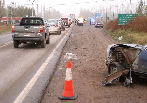 Accidente en Ruta 151