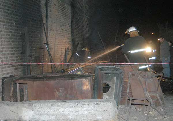El origen del incendio en la casilla del changarín habría sido accidental