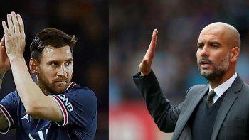 Messi vs Guardiola en PSG-City: hora y TV de un partidazo