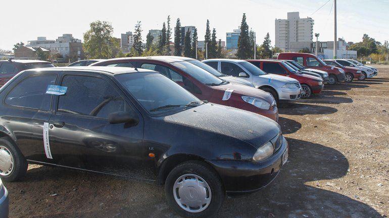 Cipolletti: habrá beneficios para quienes tengan que retirar autos secuestrados
