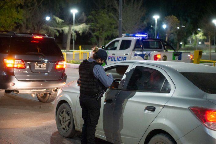 La Policía de Río Negro realizó diversos operativos de prevención.