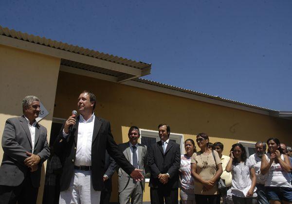 El gobernador y la Presidenta inauguraron barrio en Cipolletti