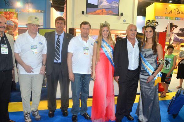 Weretilneck inauguró el stand de Río Negro en la Feria Internacional de Turismo