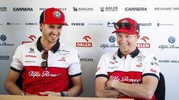 Alfa Romeo continuará con los mismos pilotos en el 2021