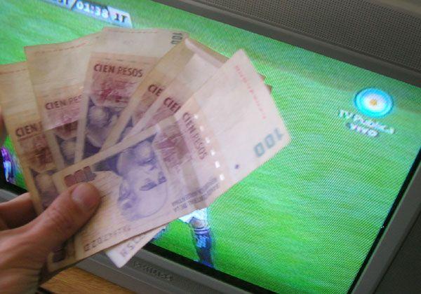 Dinero de TV en el Argentino A
