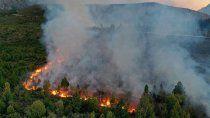 creen que el incendio en los bosques del bolson fue intencional