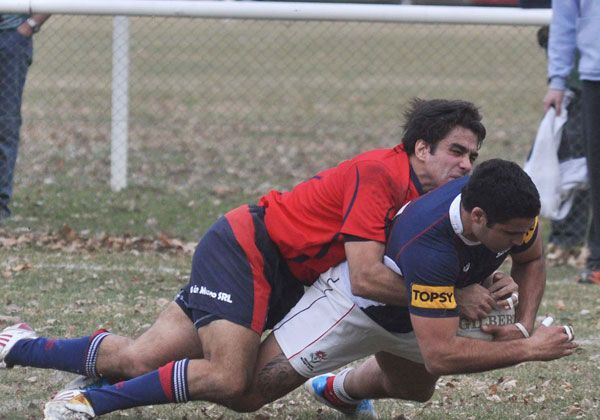 Reencuentro de rugby en Roca