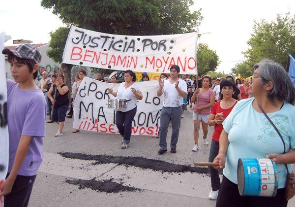 Vecinos de Oro pidieron justicia por Moyano