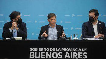 Kicillof anunció que en Buenos Aires habrá clases los sábados para recuperar