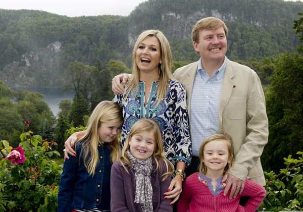 Máxima y el príncipe Guillermo festejarán las Fiestas en la Argentina