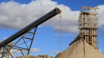 empresas de arena para fracking pagaran una tasa para el control de la produccion