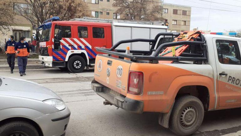 Una explosión en las 200 Viviendas generó temor entre vecinos