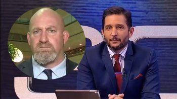 Paoloski ridiculizó al Vikingo Martin en vivo: ¿se arma?