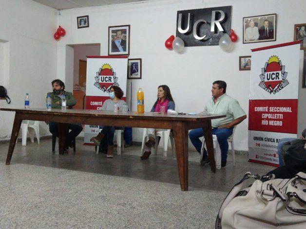 La UCR avisa que dará una fuerte pelea a Tortoriello en la ciudad