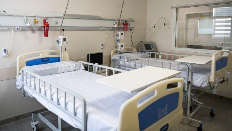 Más del 82 por ciento de las camas de UTI están ocupadas en CIpolletti.
