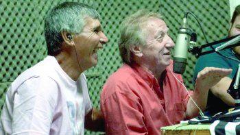 El Conejo Díaz junto al Ruso Strak en una entrevista de Cipo Pasión.