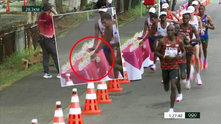 El gesto antideportivo que generó indignación en la maratón olímpica